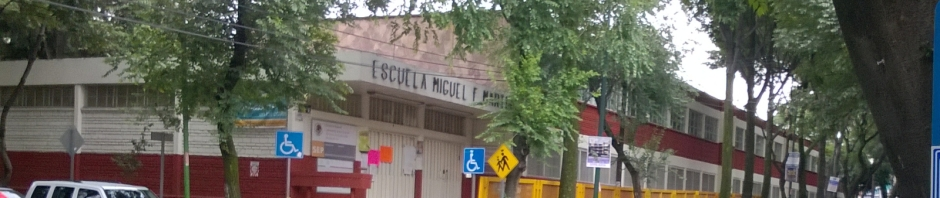 Mi escuela primaria Miguel F. Martínez